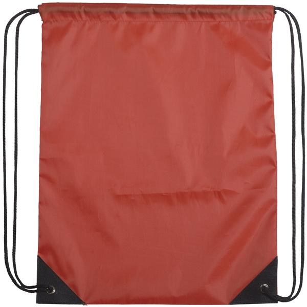 4180-5 אדום - שרוך שחור