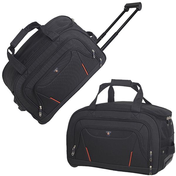 תיק נסיעות גדול במיוחד עם ידית טרולי, בנפח 45 ליטר, ניתן למתג או להוסיף מסר אישי.