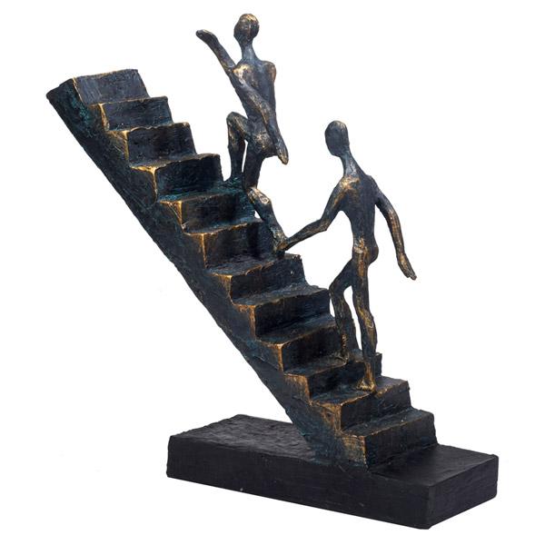 """פסל אמנותי """"Gracia Gallery"""" -  """"עולים לפיסגה"""""""