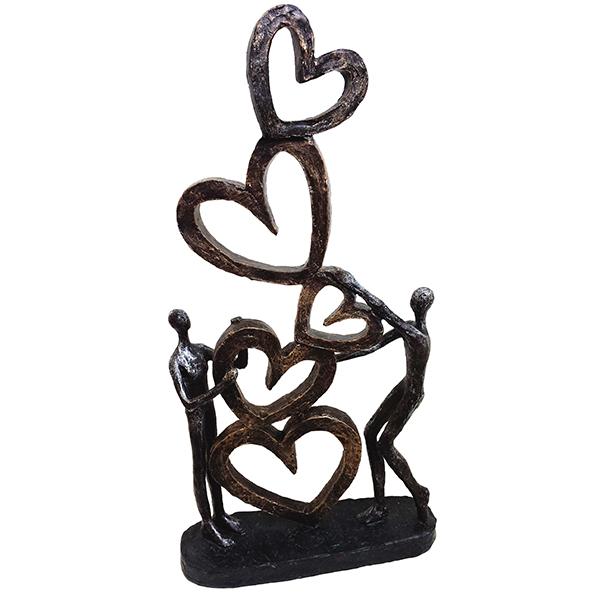 """פסל אומנותי - """"אהבה באויר"""""""